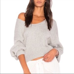 Free People Cotton Slouchy Perfect Day Sweater